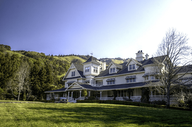 George Lucas house Most expensive celebrity houses