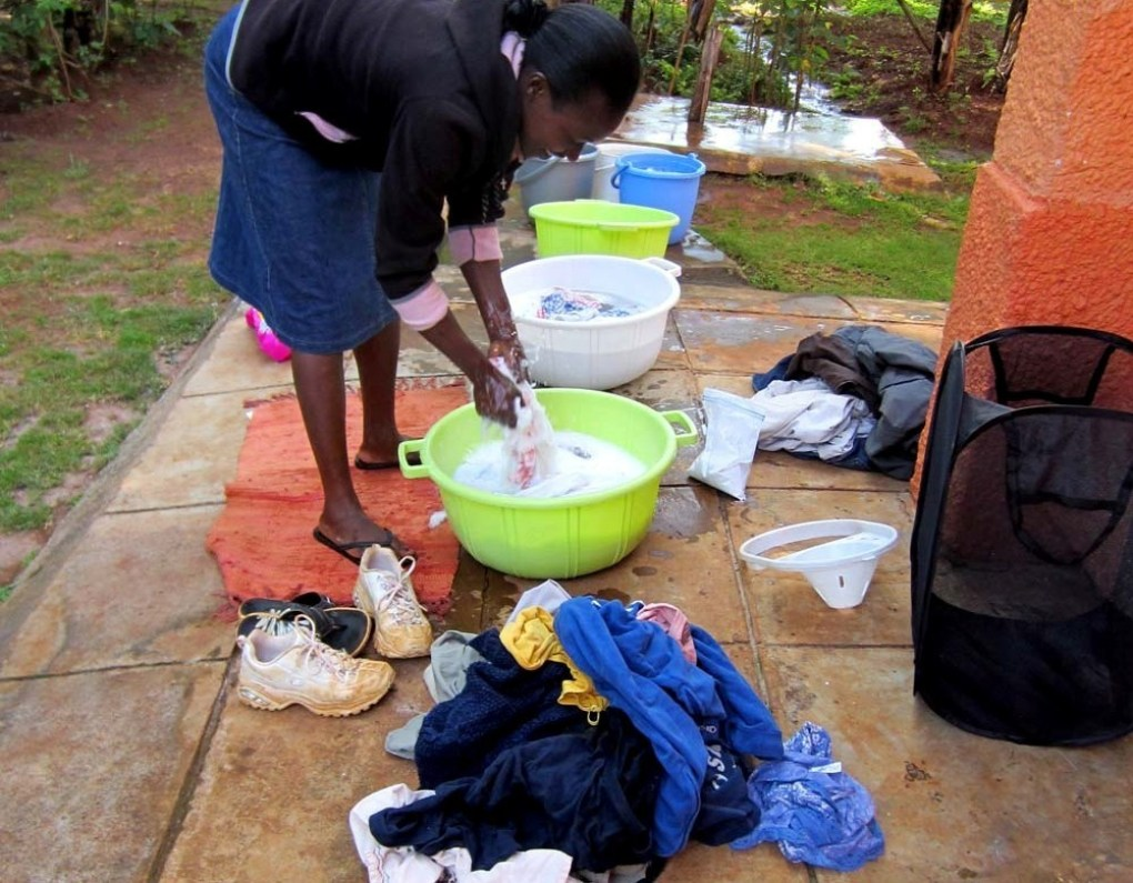 african-washing