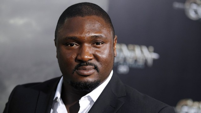 "Nonso Anozie arrives the premiere of ""Conan the Barbarian"" in Los Angeles, Thursday, Aug. 11, 2011. ""Conan the Barbarian"" opens in theaters Aug. 19, 2011. (AP Photo/Matt Sayles)"