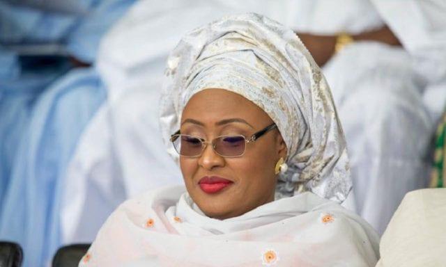 aisha buhari 640x384 - Aisha Buhari thanks husband for appointing aides to her office