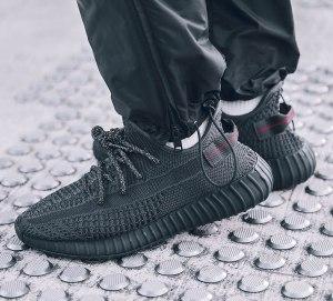 adidas-Yeezy-Boost-350-V2-Black-On-Feet-1