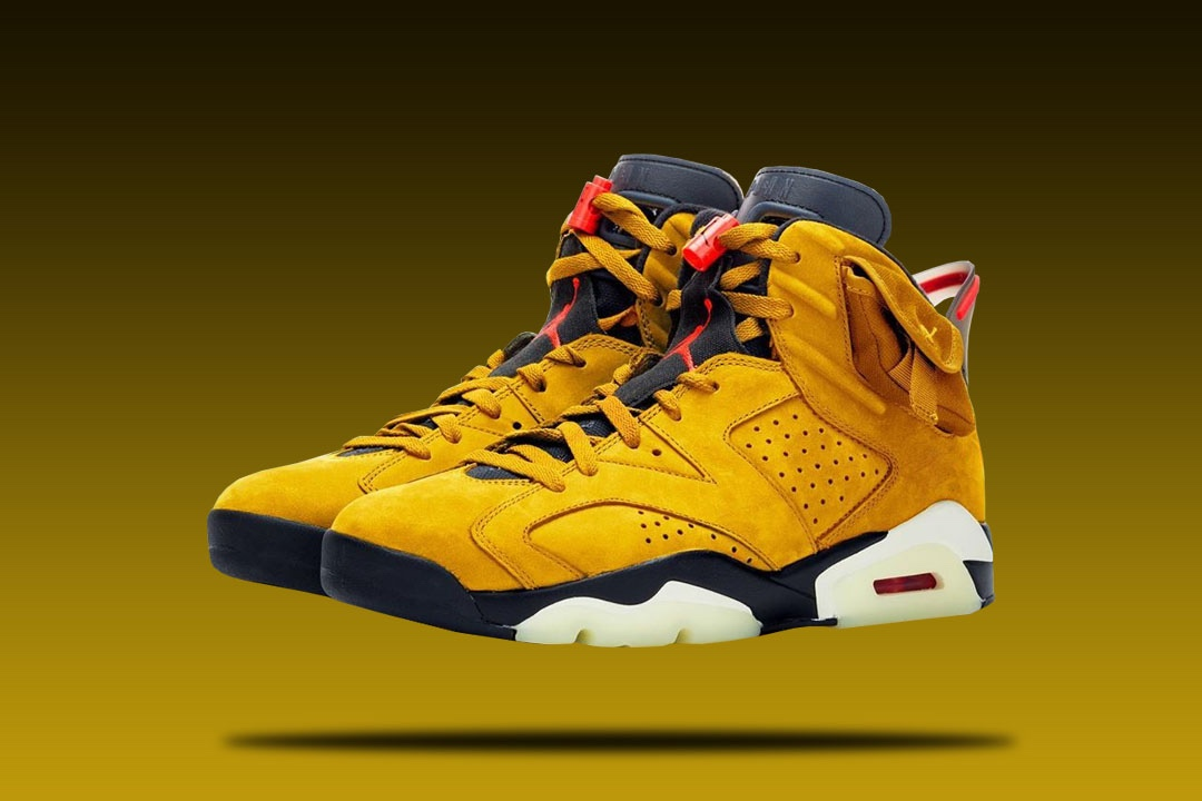air jordan 6 travis scott yellow