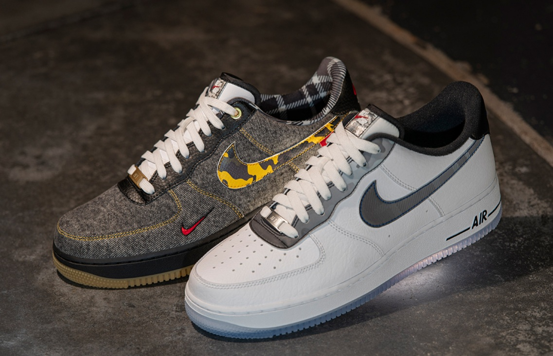 Two Nike Air Force 1s Planned For Foot