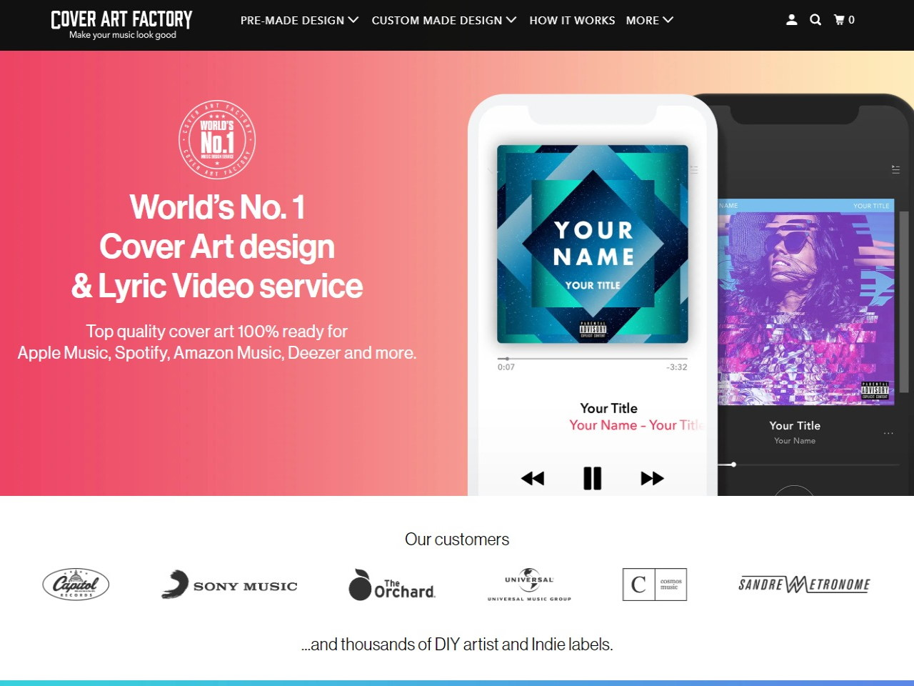 Cover Art Factory