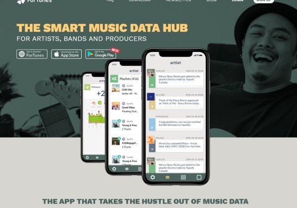 ForTunes - Music Data Analytics