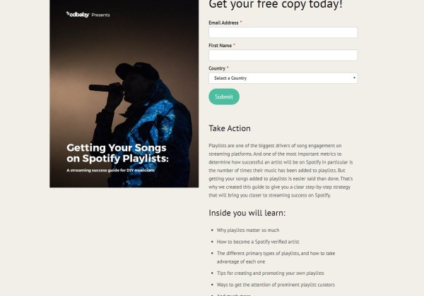 How To Get Your Songs Added to Spotify Playlist Guide CD Baby