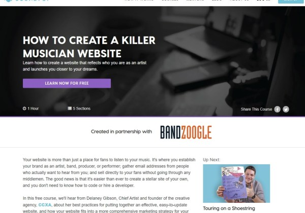 How to Create a Killer Musician Website Music Course Soundfly