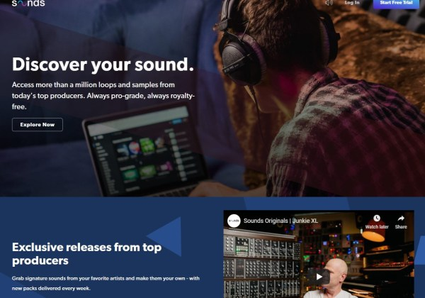 SOUNDS Your daily source for loops and samples