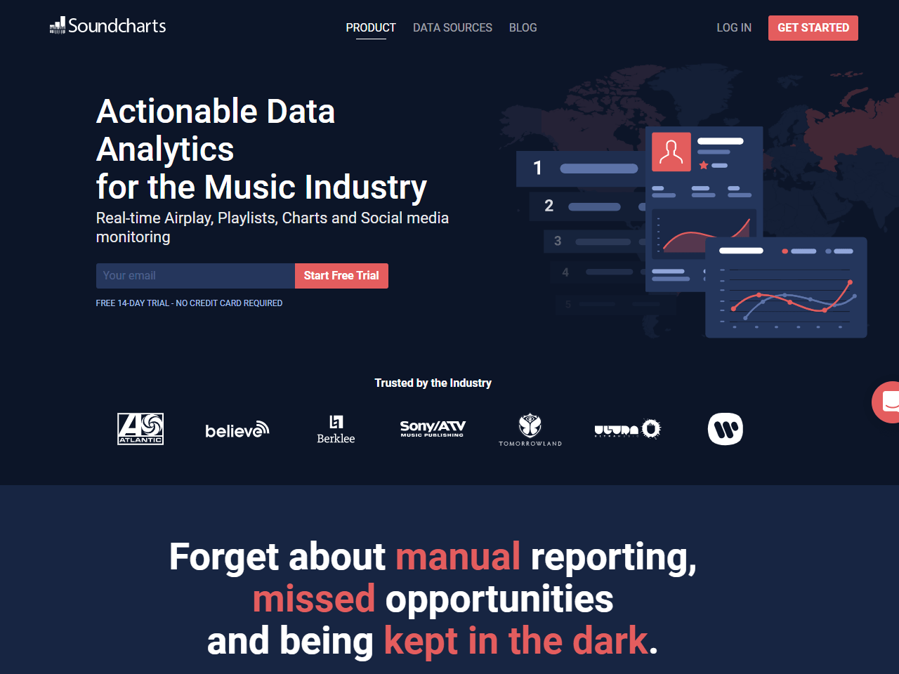 Soundcharts Music Analytics Tool Analyze All the Music Industry Data