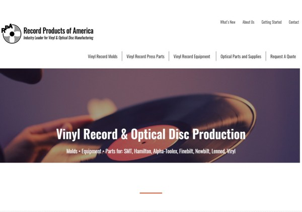 Vinyl Record Machines Record Products of America