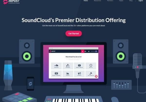 Soundcloud's Repost Network