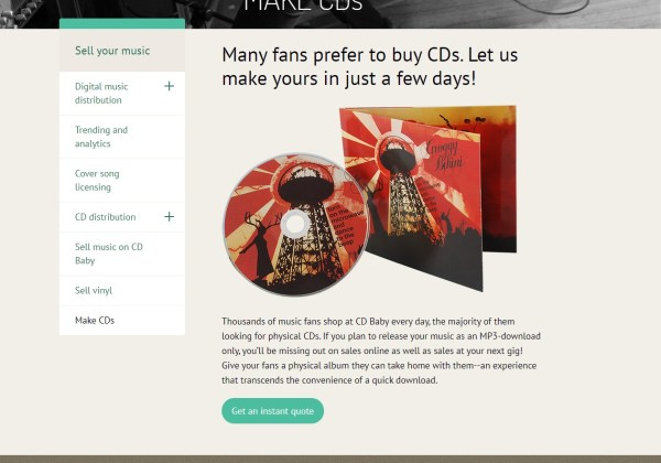 Affordable CD Duplication and Manufacturing Services CD Baby