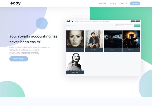 Eddy - Royalty Software