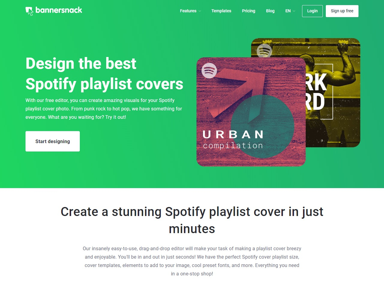 Free Spotify Playlist Cover Maker - Design the Best Playlist Covers