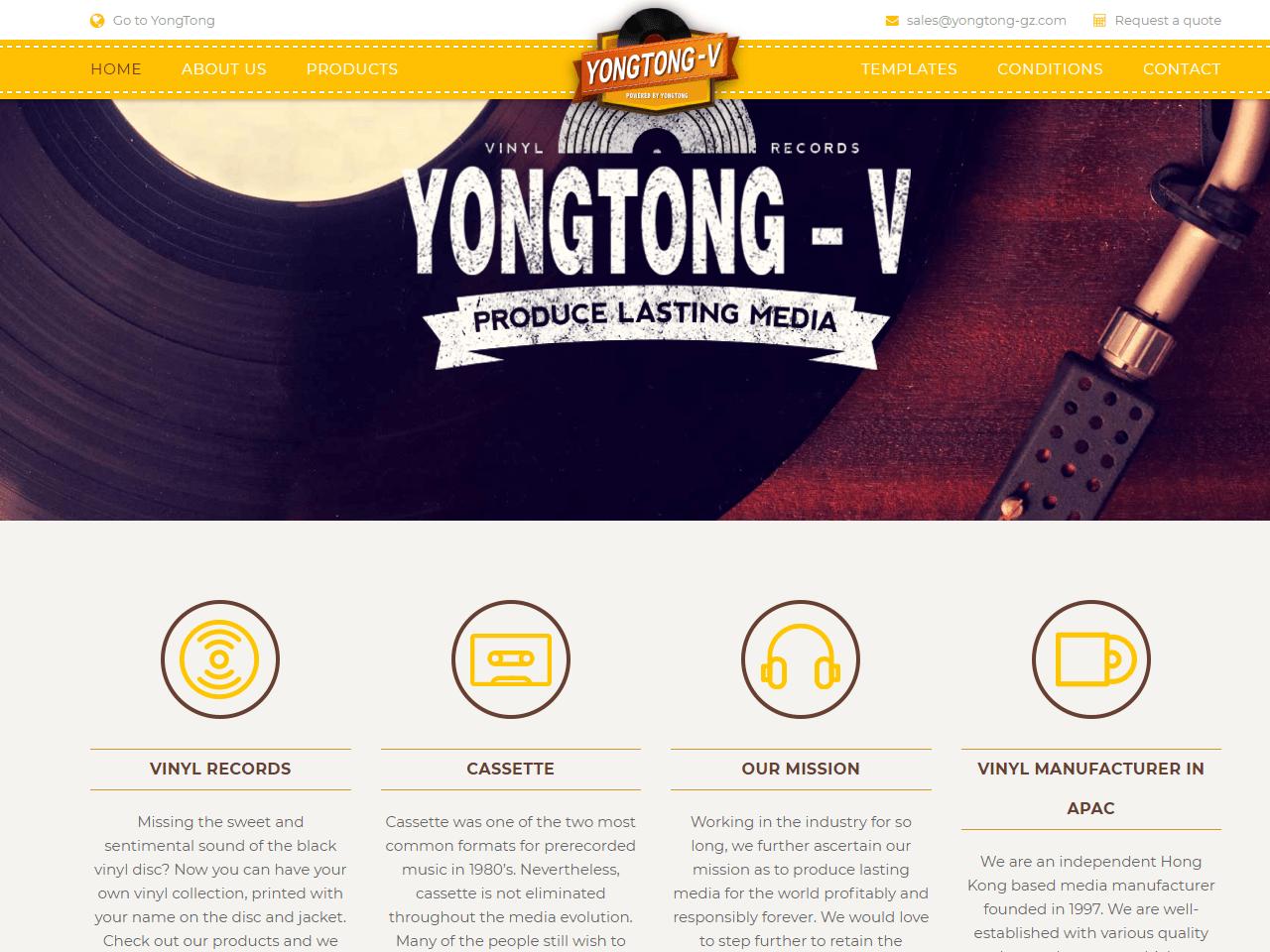 Yong Tong Hong Kong vinyl pressings