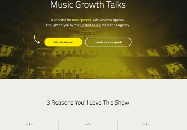 music growth talks podcast