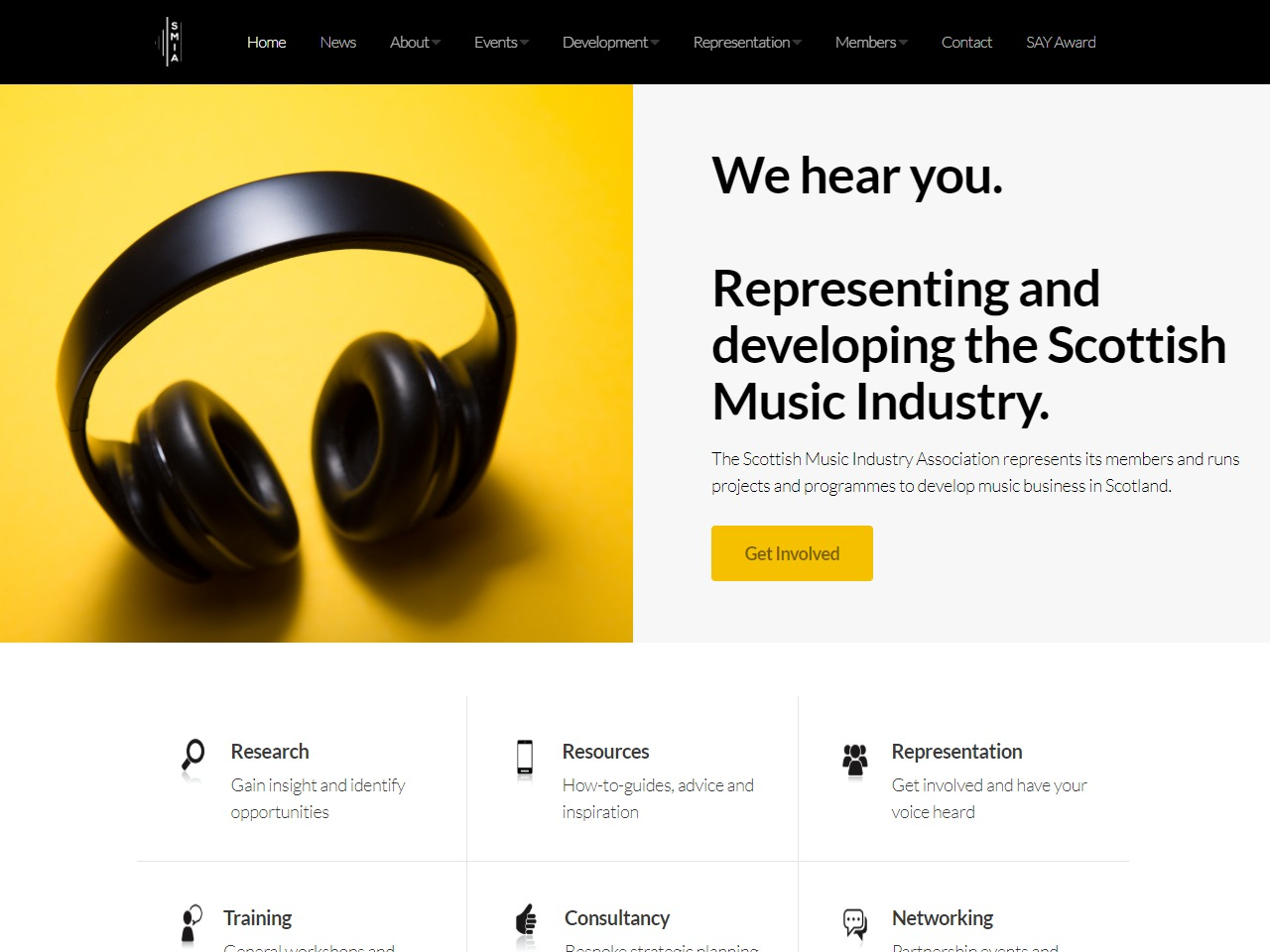 the scottish music industry association
