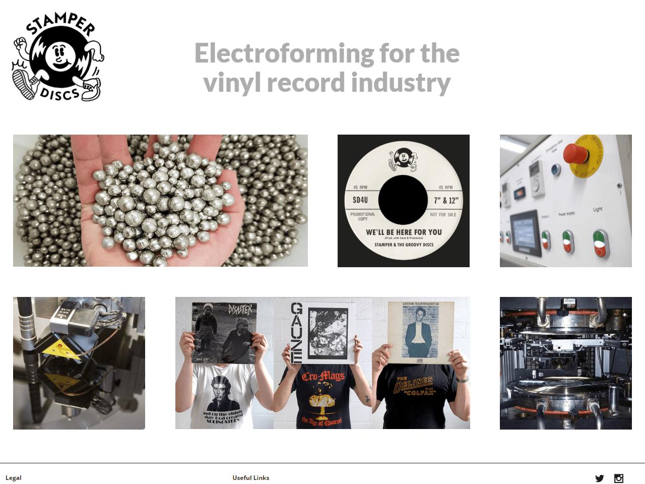 Stamper Discs Electroplating