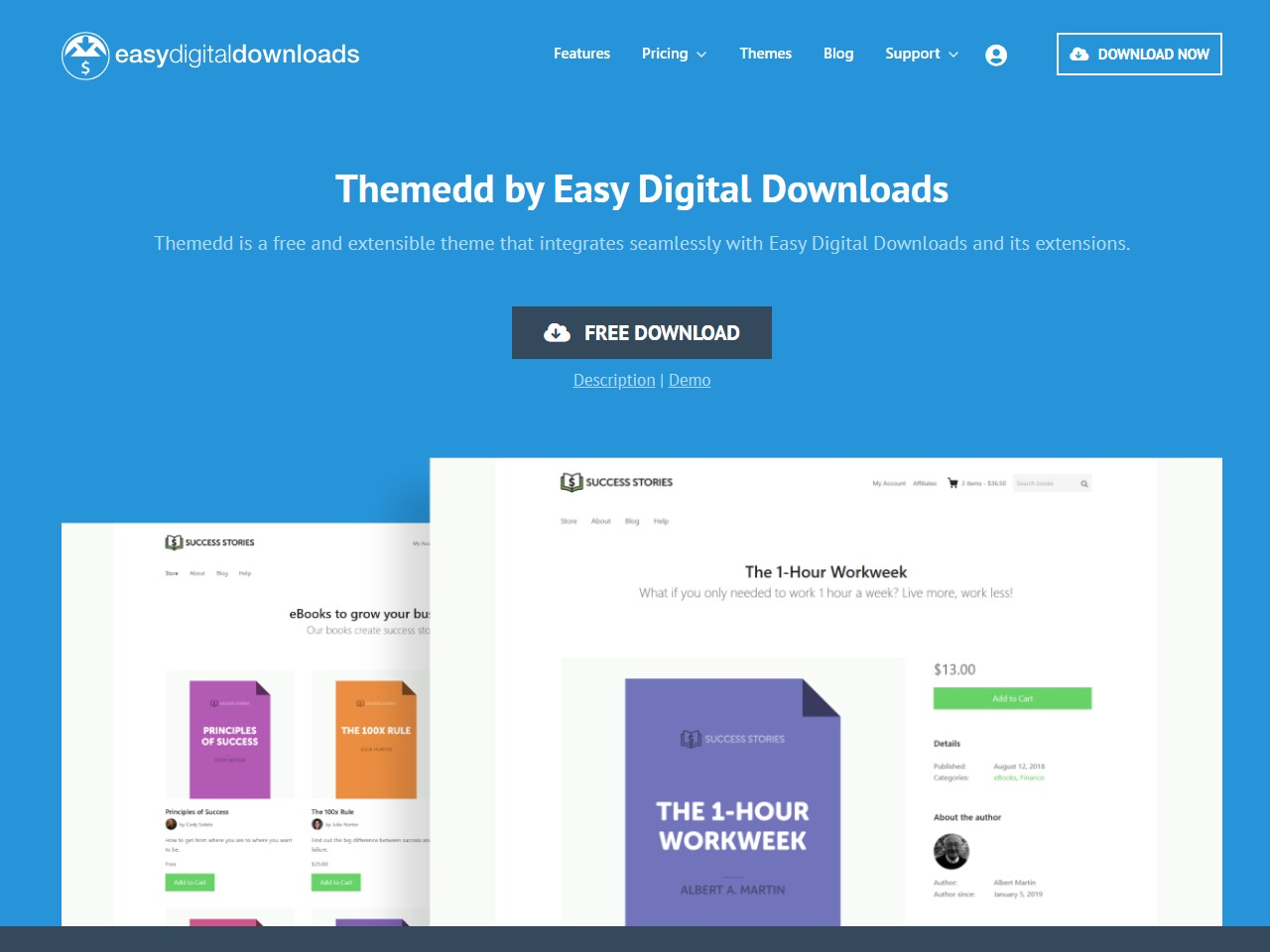 wordpress easy digital downloads