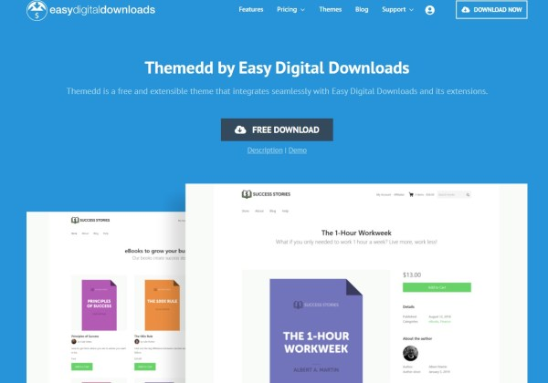 wordpress easy digital downloads