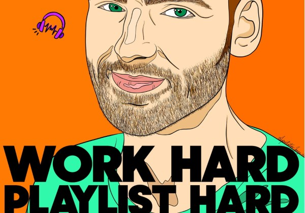 Work Hard Playlist Hard by Mike Warner