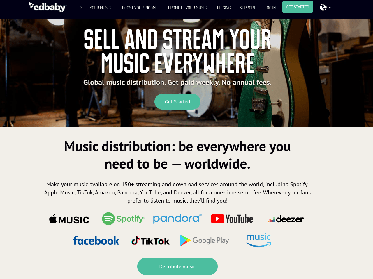 CD Baby Digital Music Distribution - Sell Promote Your Music