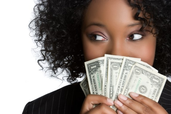 Image result for african american man holding money