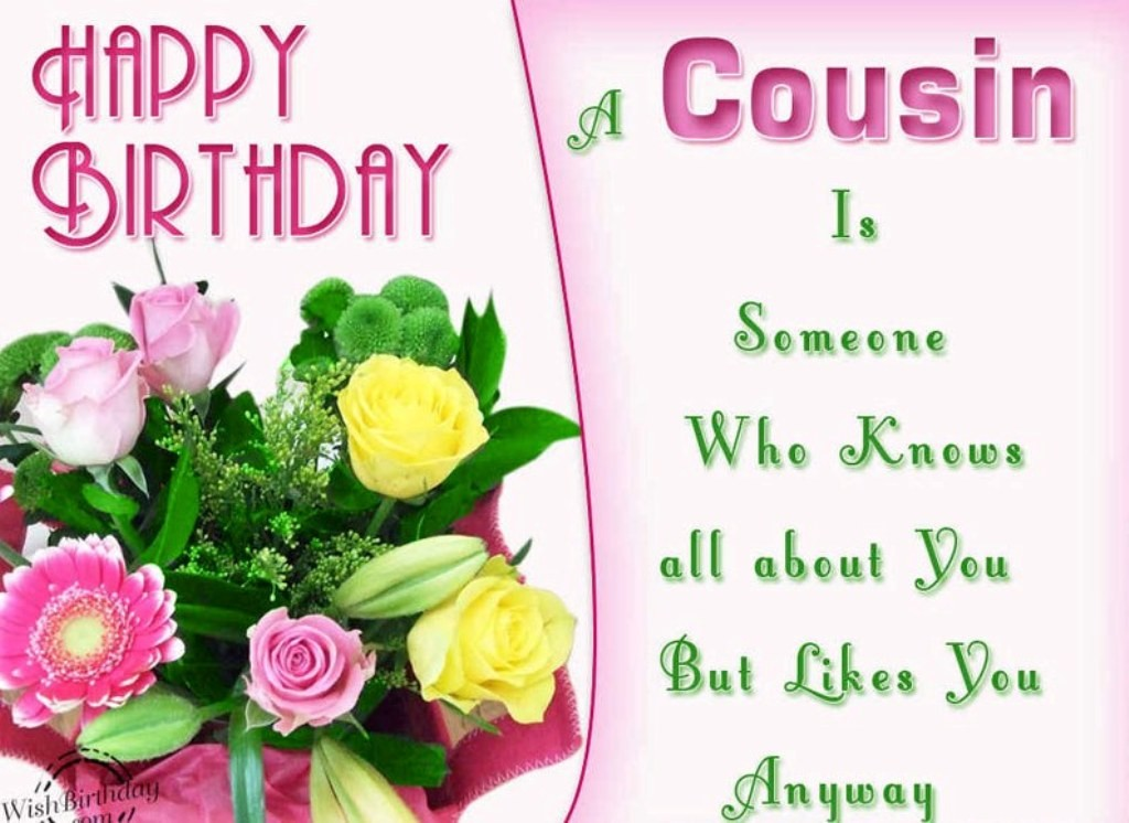 50 Happy Birthday Wishes For Your Favorite Cousin
