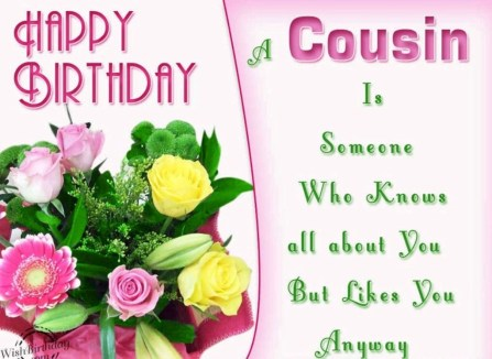 Happy Birthday Cousin: 55 Best Wishes For Your Favorite Relation