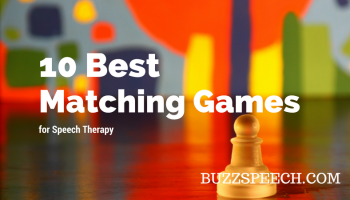 Matching Games for Speech Therapy