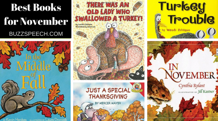 best children's books for november