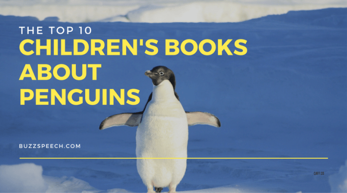 children's books about penguins
