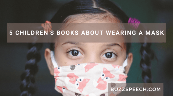 children's books about wearing a mask
