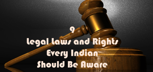 9 legal laws and rights every Indian should be aware of