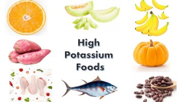 High potassium food items for your health