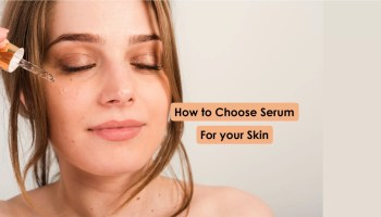 How to choose serum for dry skin