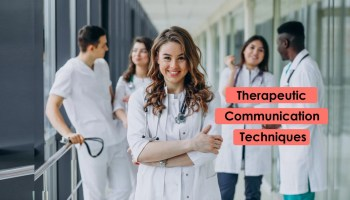 Therapeutic Communication Techniques used by nurse to handle patients