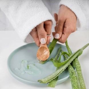 aloe vera to remove mole on skin