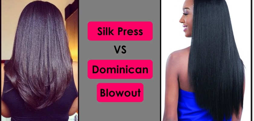 Dominican Blowout vs Silk Press Hair Straightening Guide
