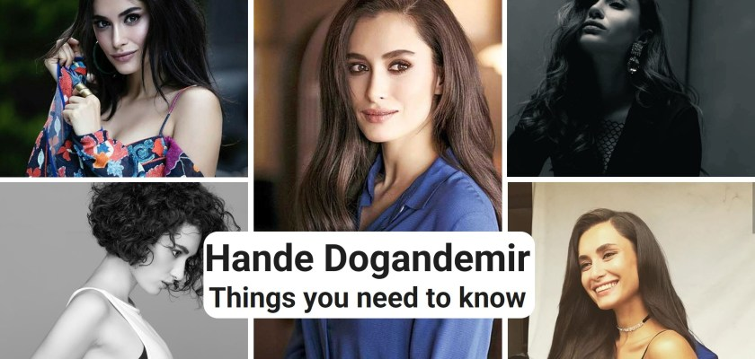 Hande Dogandemir curly Long hair & hairstyle for turkish girls beautiful smile photos