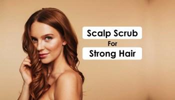 Scalp scrub for strong hair