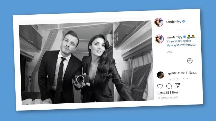 Hande Erçel & Kerem Bürsin love story
