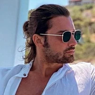 Alp Navruz long hair