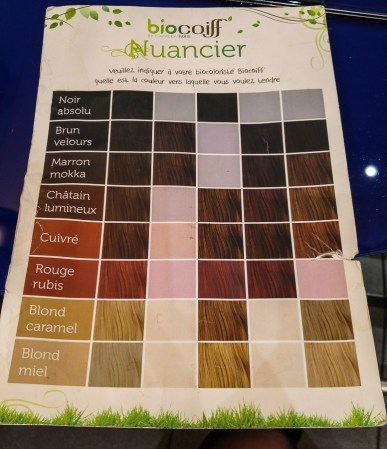 coloration végétale