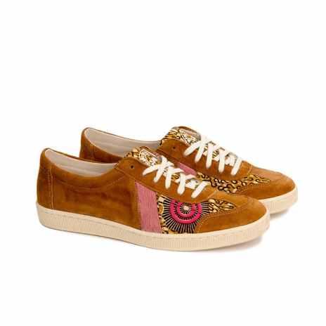 chaussure en wax