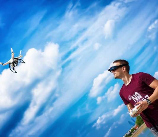 Mini drone camera