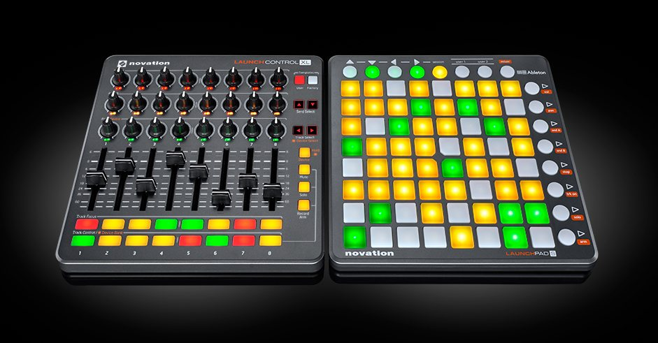 Novation Launch Control XL Revisión de superficies MIDI