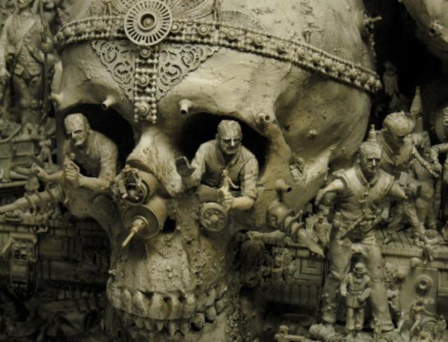 Image result for Kris Kuksi artist