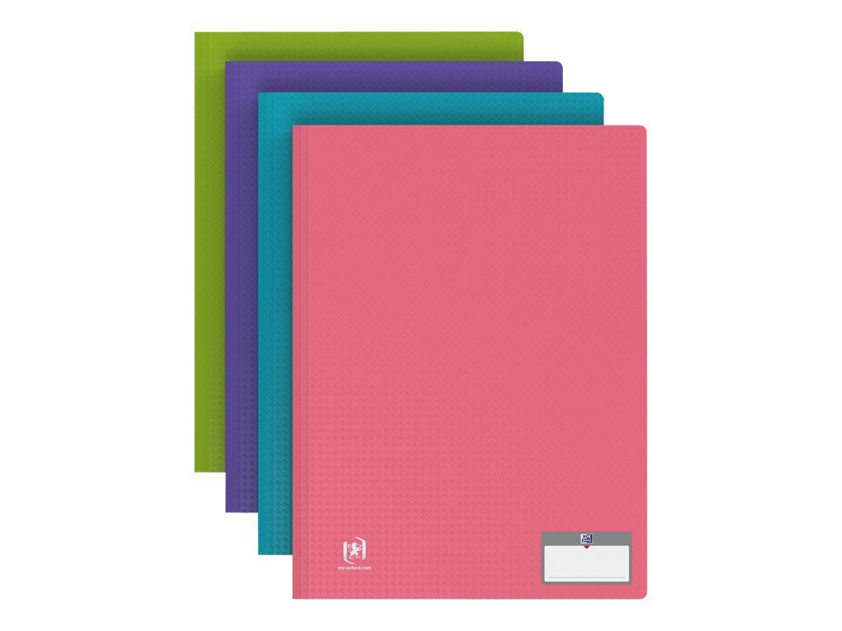 memphis style porte vues 100 vues a4 disponible dans differentes couleurs