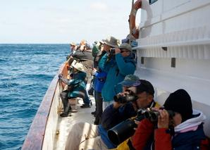 Participants aboard Grande